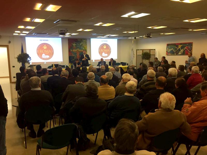 Qualità certificata e cooperazione per vincere la sfida dei mercati: cresce l'interesse degli olivicoltori per il progetto Olio Extra Vergine IGP ROMA