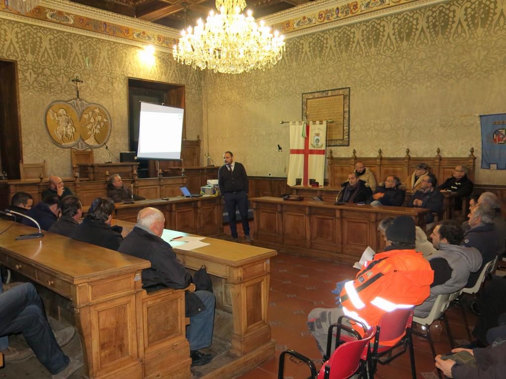 Interesse e partecipazione all'incontro organizzato il 19 gennaio a Vetralla da OP LATIUM con la Coop. Cesare Battisti