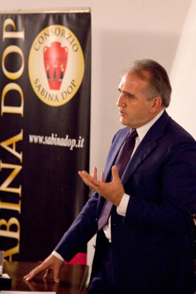 Stefano Petrucci riconfermato Presidente del Consorzio Sabina D.O.P.