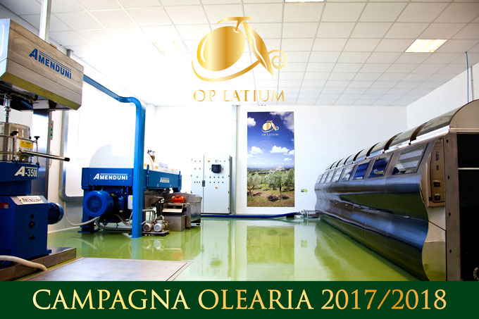 Date di apertura dei frantoi OP LATIUM di Palombara Sabina, Marcellina e Castelnuovo di Farfa