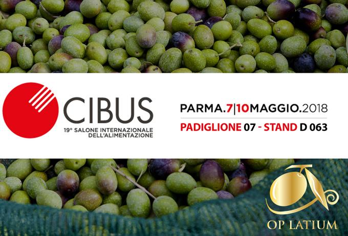 OP LATIUM al Cibus di Parma dal 7 al 10 maggio 2018