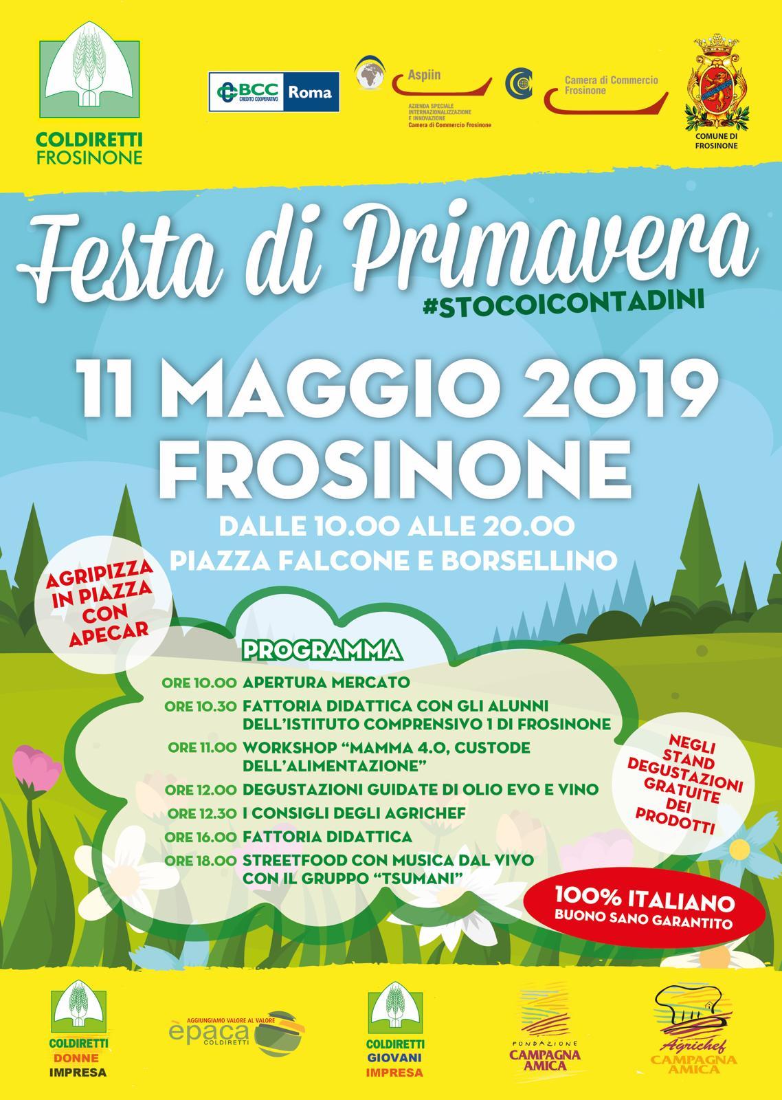 Sabato 11 Maggio a Frosinone assaggi guidati di olio EVO a cura di OP LATIUM