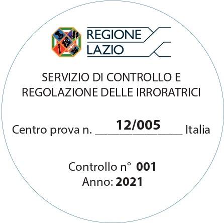 Comunicazione per il controllo delle attrezzature irroratrici
