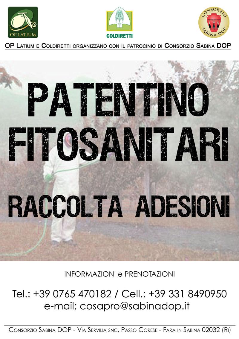 Corso per il rilascio del Patentino per Prodotti Fitosanitari: adesioni aperte
