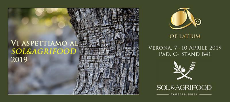 SOL&AGRIFOOD edizione 2019, vi aspettiamo a Verona dal 7 al 10 aprile